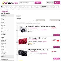 Canon POWERSHOT SX220 HS - GRIS achat et prix comparer discount promotion Canon SX220 HS - GRIS