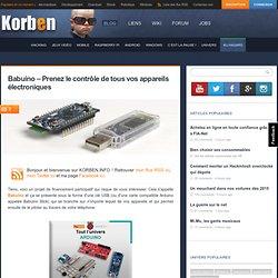Babuino - Prenez le contrôle de tous vos appareils électroniques