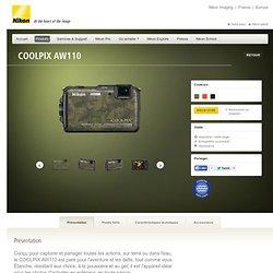 France - Appareils photo numériques - Compacts numériques - All Weather - COOLPIX AW110