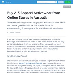 Buy 213 Apparel Activewear from Online Stores in Australia