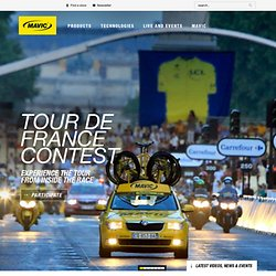 Mavic est un fabricant français de systèmes pour le vélo et d'équipements pour le cycliste haut-de-gamme.
