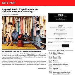 Apparel Paris, l'appli mode qui t'habille avec ton dressing