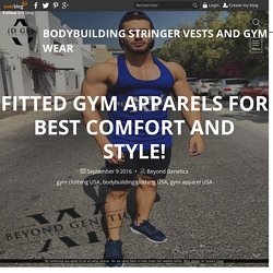 Fitted Gym Apparels For Best Comfort And Style!
