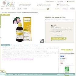 PRANAROM Rose musquée Bio - 50 ml, Prévient l'apparition des rides, redonne souplesse et élasticité à votre peau, Soins Raffermissants et Anti-Vergetures