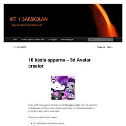10 bästa apparna – 3d Avatar creator