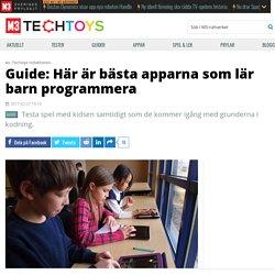 Guide: Här är bästa apparna som lär barn programmera - Techtoys