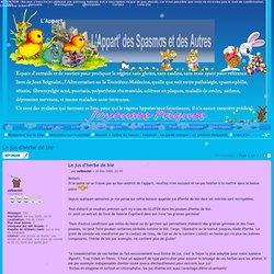 Le jus d'herbe de blé : Le germoir Seignalet