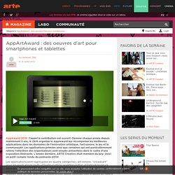 AppArtAward: des oeuvres d'art digitales sur le smartphone et la tablette