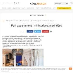 Petit appartement : plans, conseils, aménagement, reportages...