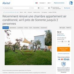 Récemment rénové une chambre appartement air conditionné, wi-fi près de Sorrente jusqu'à 2 personnes - Naples