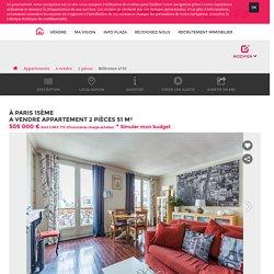 Achat Appartement 2 pièces 51m² Paris