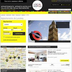 Location appartement Londres - Location Vacances Localnomad.com