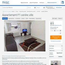 Appartement F1 centre ville - Lisieux et ses environs