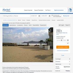Appartement vue mer situé à 50 mètre d'une plage de sable fin - Région de Lannion