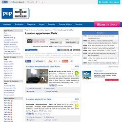 Location appartement Paris (75) 3 pièces à partir de 2 chambres jusqu'à 1.400 euros