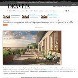 Déco terrasse appartement - 35 propositions qui vous couperont le souffle