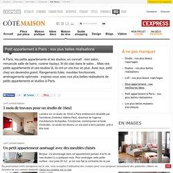 Petit appartement et studio parisien : nos plus belles réalisations à Paris