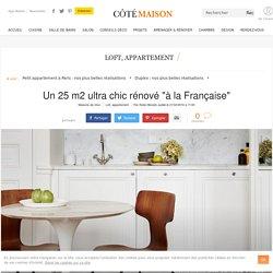 Appartement Paris 6 : un 25 m2 rénové dans un style classique - 22/02/16