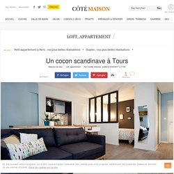 Appartement Tours : 32 m2 scandinaves refaits à neuf