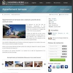 vente appartement terrasse Essaouira