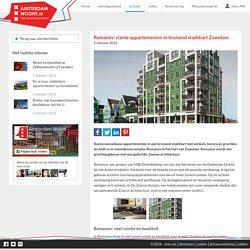 Romanov: riante appartementen in bruisend stadshart Zaandam - Amsterdam Woont