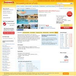 Appartementen Alma Beach - Zonvakanties - Sunweb vakanties