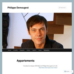 Appartements | Philippe Demougeot