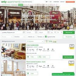 Appartements à Londres, Location d'appartements à Londres