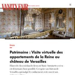 Les appartements de la Reine (Versailles)
