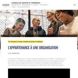 L'appartenance à une organisation – M'SIEUR