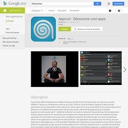 Appcurl - Découvrez cool apps