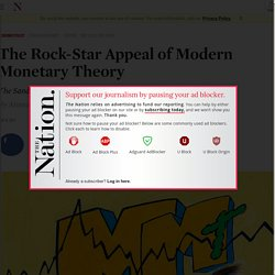 The Rock-Star Appeal of Modern Monetary Theory