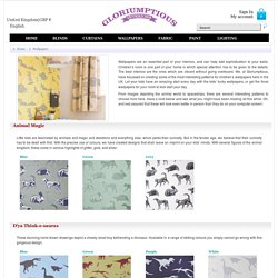 Gloriumptious Interiors Offers Childrens Wallpapers in UK