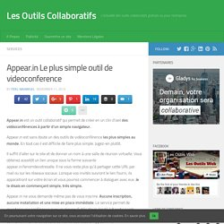 Appear.in Le plus simple outil de videoconference - Les Outils Collaboratifs - Pale Moon