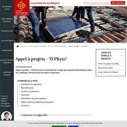"""Appel à projets - """"0 Phyto"""""""
