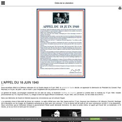 L'appel du 18 juin 1940 [source]