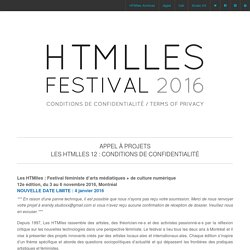 FESTIVAL HTMLLES 2016