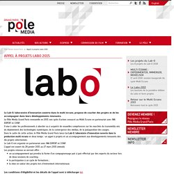 Appel à projets Lab-O