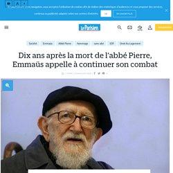 Dix ans après la mort de l'abbé Pierre, Emmaüs appelle à continuer son combat - Le Parisien