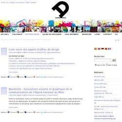 Listes noires Appels d'offres-Concours-Crowdsourcing