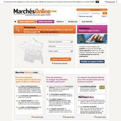 Appels d'offres, mapa, avis de marché, marchés publics