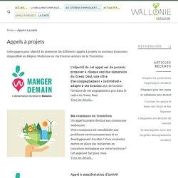 Appels à projets - Wallonie#Demain