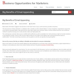 Business Oppurtunities for Marketers