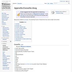 Appendix:Cannabis slang