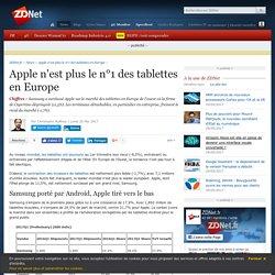 Apple n'est plus le n°1 des tablettes en Europe - ZDNet