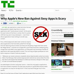Why Apple's New Ban Against Sexy Apps Is Scary
