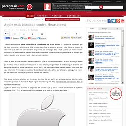 Apple está blindado contra Heartbleed