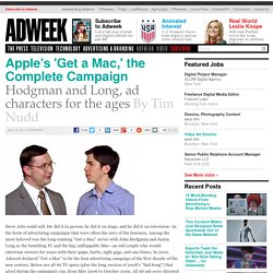 AdFreak: Apple Get a Mac: The Complete Campaign