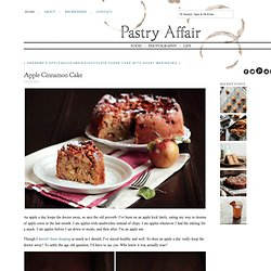 The Pastry Affair - Home - Apple Cinnamon Cake