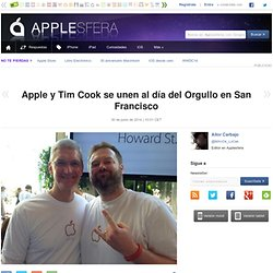 Apple y Tim Cook se unen al día del Orgullo en San Francisco